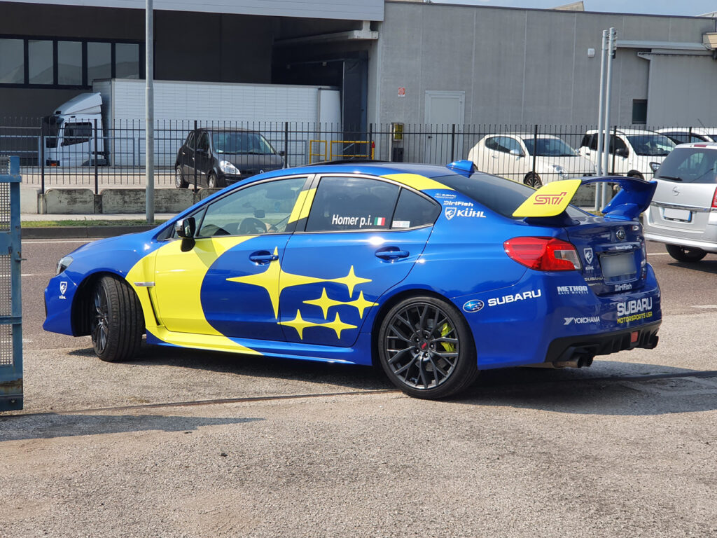 SUBARU IMPREZA WRX Sti 2019 kit adesivi replica livrea Subaru Motorsport USA Rally Team