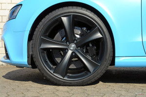 Sport-Wheels Audi RS5 color azzurro puffo
