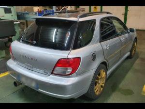 Subaru Impreza sw con pellicola oscurata gradazione 15 thiene vicenza
