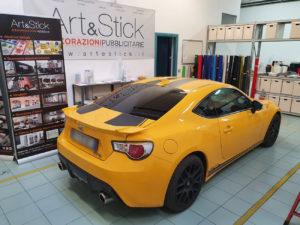 Toyota GT86 pellicola oscurata gradazione 15 45 thiene vicenza