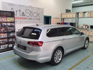 Volkswagen Passat con pellicola oscurata gradazione 15 thiene vicenza