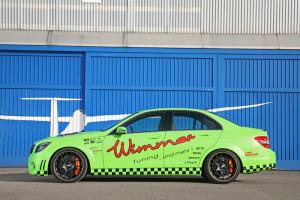 Wimmer RS Mercedes-Benz C 63 AMG Performance BlueGreen Eliminator