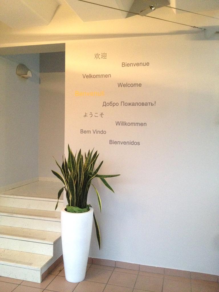Decorazione pareti con adesivi murali wall stampati art - Decorazioni muro ...
