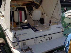 adesivo prespaziato barca