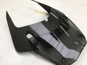 applicazione protettivo trasparente bodyfence cupolino moto