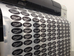 etichette cromate a specchio stampate