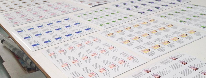 artstick etichette stampate sagomate