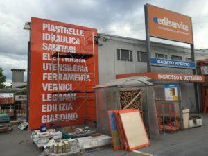 decorazione esterno adesivi prespaziati edilservice