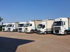 decorazione flotta camion adesivi prespaziati aerre trasporti