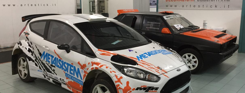 decorazione ford fiesta rally adesivi sponsor