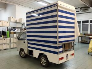 decorazione furgone street food thiene vicenza