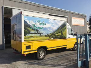decorazione truck food adesivi stampa digitale 1