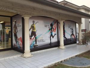 decorazione vetrate con pellicola stampata digitale masep