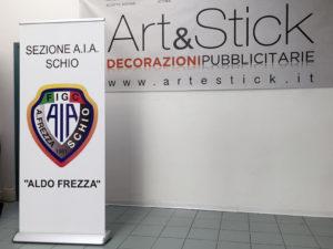 espositori rollup associazione italiana arbitri artestick