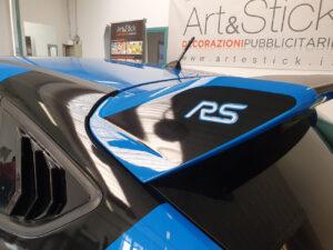 grafica personalizzazione ford focus rs mk3
