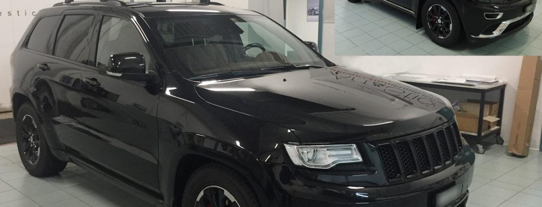 jeep grand cherokee copertura cromature nero lucido