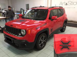 jeep renegade personalizzazione nero opaco