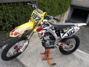 kit adesivi crystal suzuki rmz 250 motocross