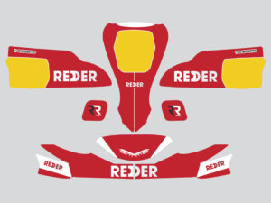 kit adesivi crystal kart redder 2019