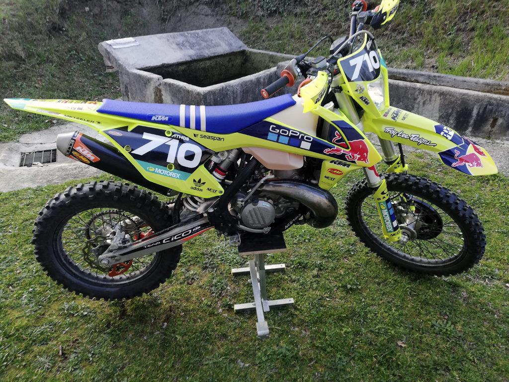 kit adesivi crystal ktm exc 300 motocross