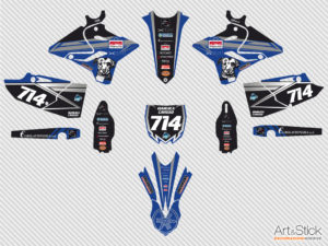 kit adesivi crystal santacaterina 2020 motocross