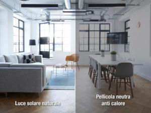 pellicola a controllo solare daylight natural