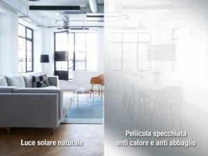 pellicola a controllo solare scenic view