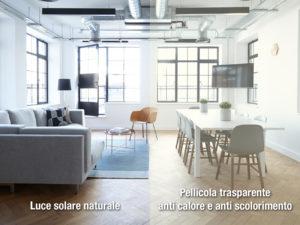 pellicola a controllo solare sunlight