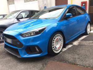 personalizzazione cerchi in lega Ford Focus RS mk3