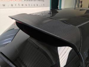personalizzazione nissan juke nismo pellicola carbonio 3d wrapping