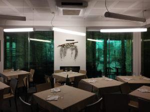 rivestimento vetrate ristorante pellicole trasparenti stampate