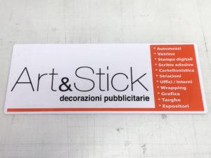 targa magnetica artestick