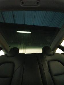 tesla model 3 tetto pellicola oscurata solare gradazione 15 35 thiene vicenza