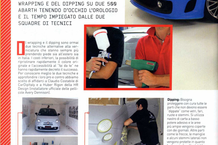 wrapping dipping plastidip costo ore lavoro tuning generation